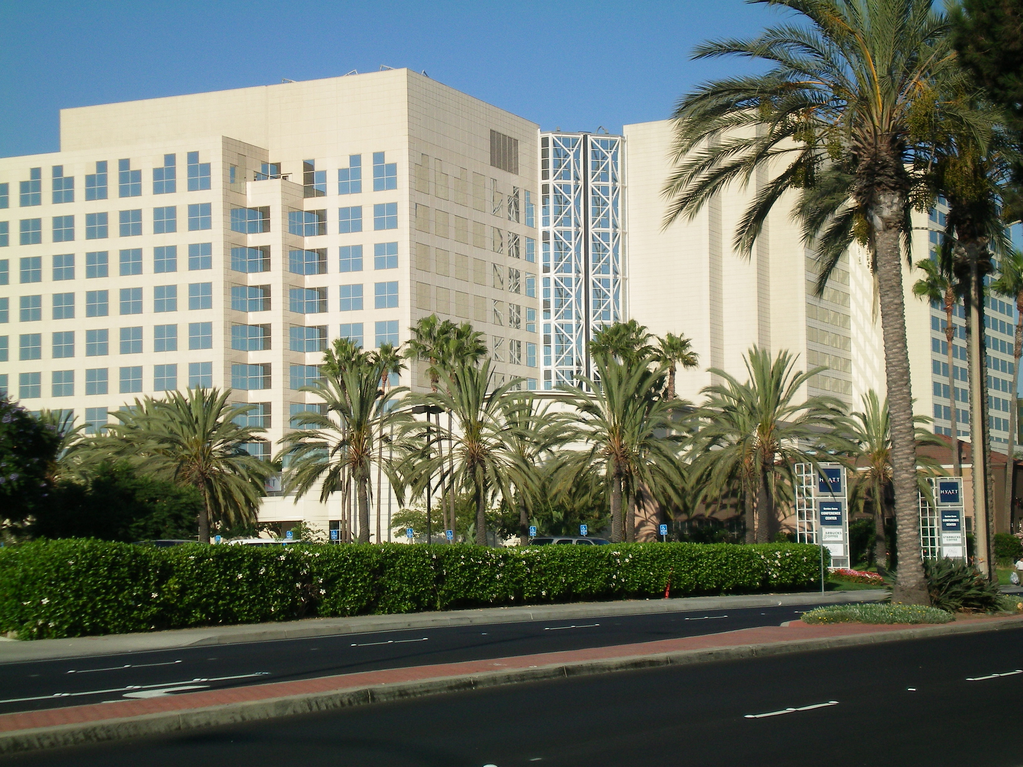 THE HYATT REGENCY ORANGE COUNTY In Garden Grove (File Photo).