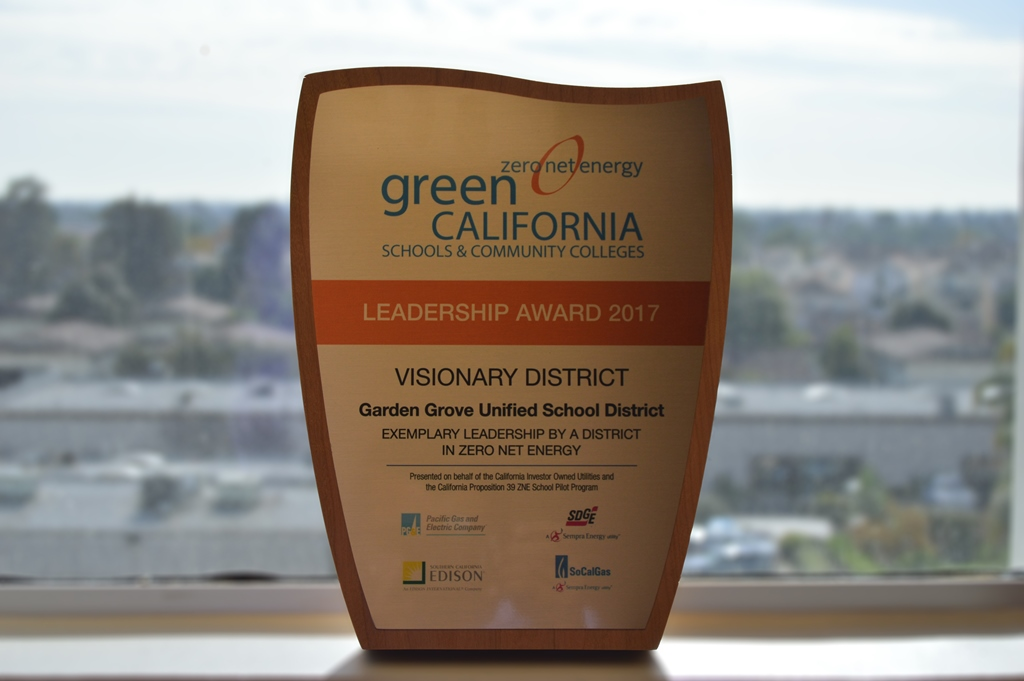 Ggusd Wins Energy Saving Honors Orange County Tribune