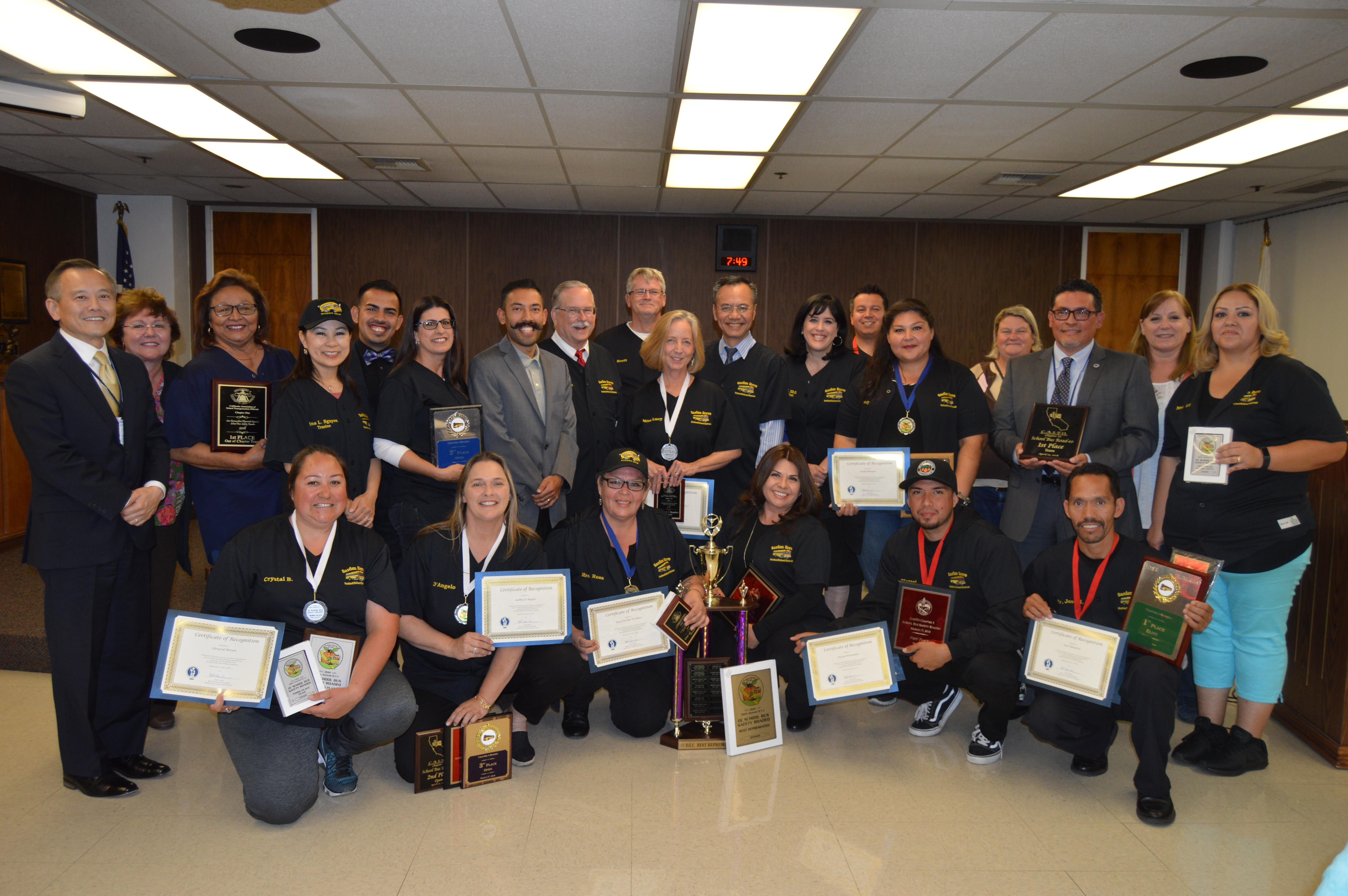 Ggusd Rounds Up Passel Of Honors Orange County Tribune