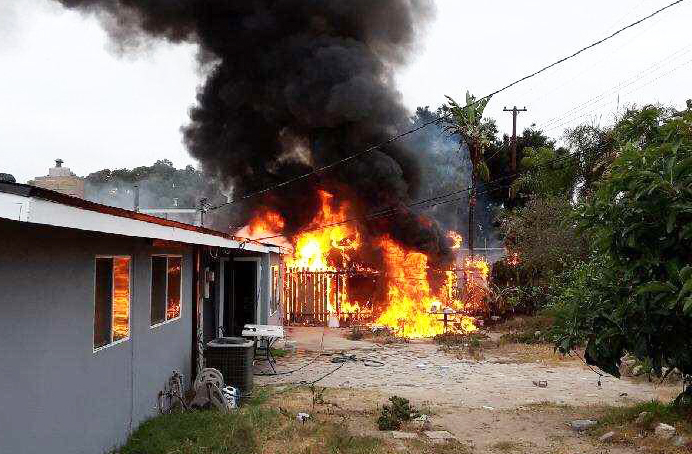 14k Damage In A Garden Grove Fire Orange County Tribune